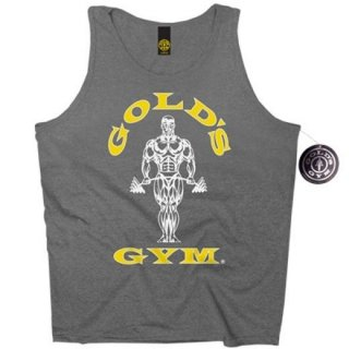 Golds Gym Athlete Tank Top Men´s  , Gold´s Gym Muskelshirt charcoal