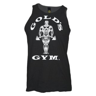Golds Gym Athlete Tank Top Men´s , Gold´s Gym Muskelshirt black Sleeveless Shirt S