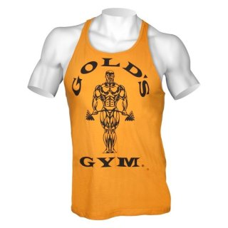 Golds Gym Tank Top Men´s  , Gold´s Gym Muskelshirt   Gold - Gelb